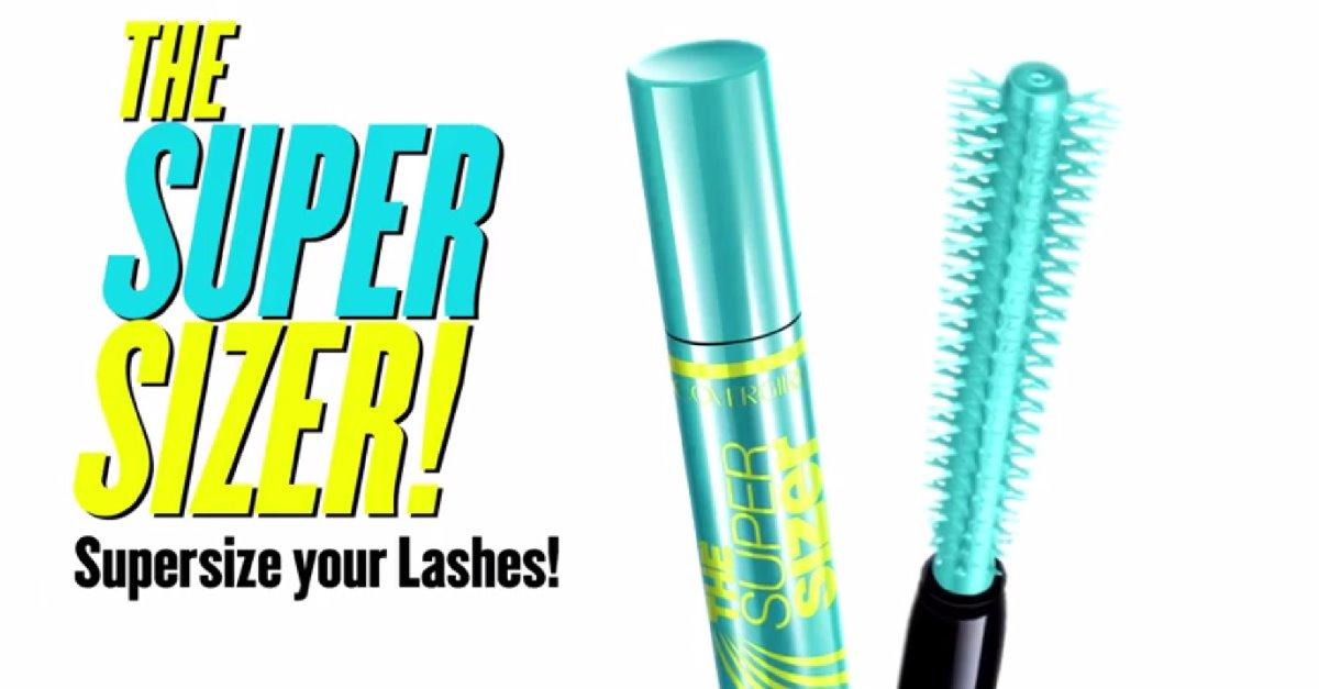 Superize your lashes with COVERGIRL® Mascara!
