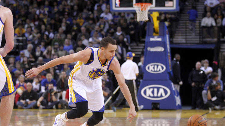 NBA: Phoenix Suns at Golden State Warriors