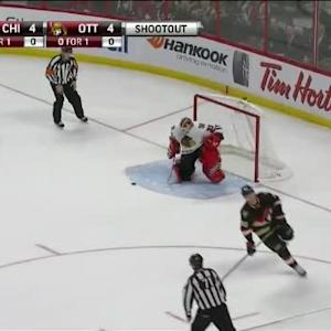 Scott Darling Save on Alex Chiasson (00:00/SO)