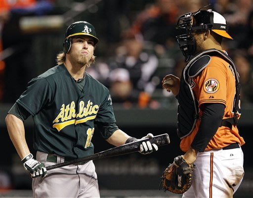 Chen and Davis lead Orioles over Athletics 10-1