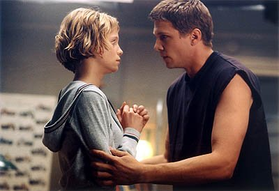 Laura Regan and Marc Blucas in Dimension's They