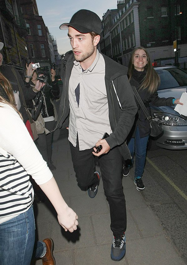 Robert Pattinson's Birthday Night Out In London With Kristen Stewart