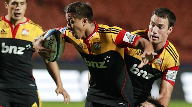 Tim Nanai-Williams of the Waikato Chiefs (Reuters)