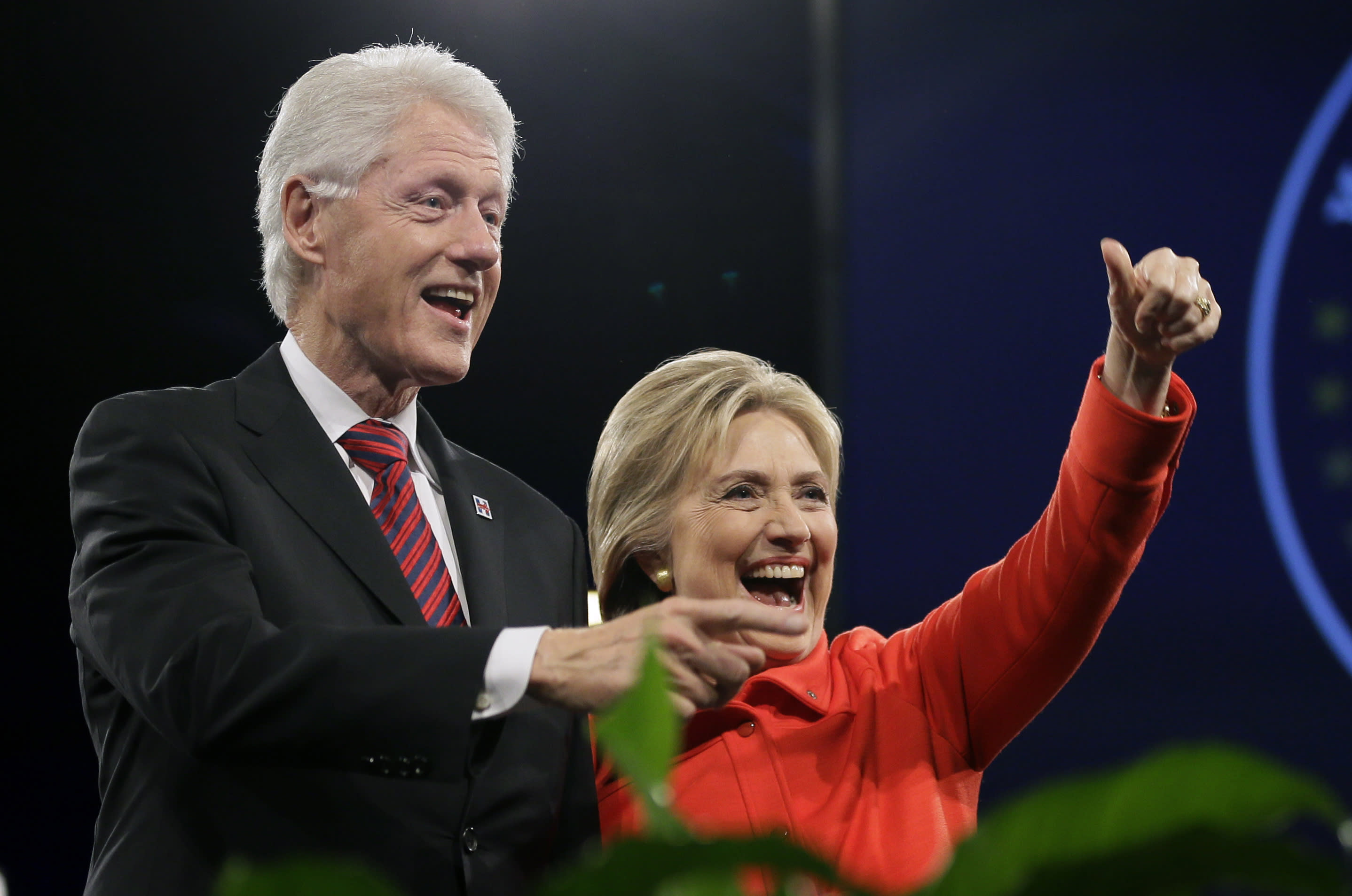 Since '01, Clintons collected $35M from financial businesses