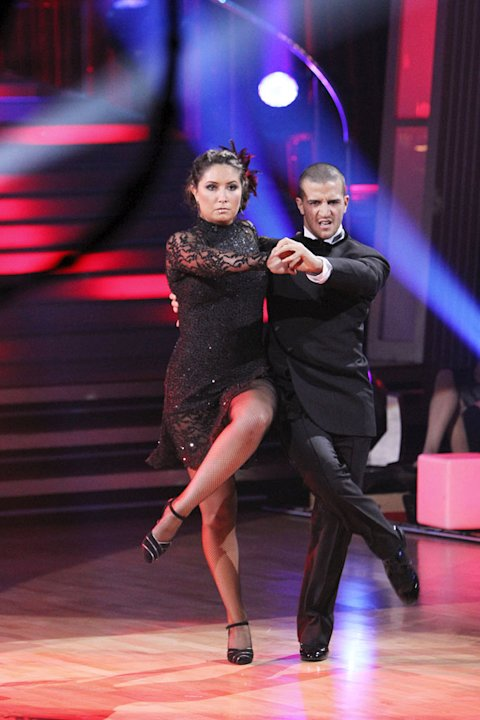 Bristol Palin and Mark Ballas perform on &quot;Dancing with the Stars.&quot; 