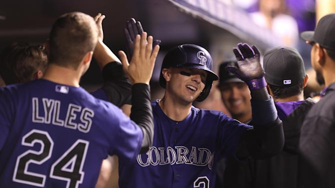 Tulowitzki's 2 homers lead Rockies past Rangers
