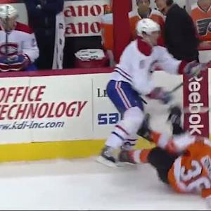 Douglas Murray decks Zac Rinaldo