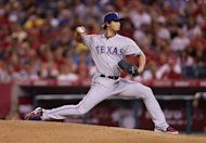 Yu Darvish, a Japanese pitcher completing his first North American season, struck out nine while allowing only one run over eight innings and Adrian Beltre hit a game-winning home run to give Texas a 3-1 victory over the Los Angeles Angels