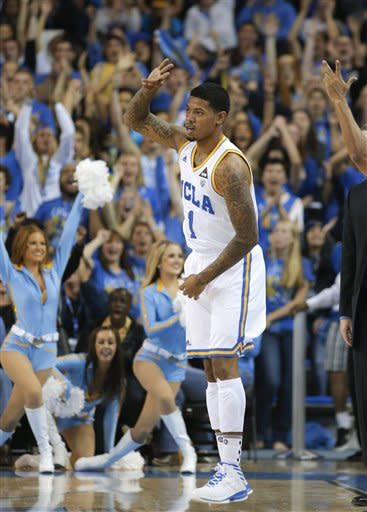 No. 13 UCLA beats Indiana State 86-59 in opener