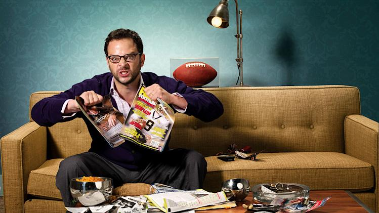 "Nick Kroll in ""The League."""