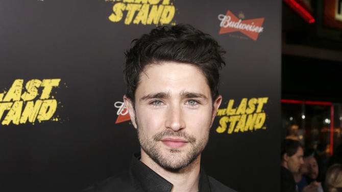 "Matt Dallas attends the LA premiere of ""The Last Stand"" at Grauman's Chinese Theatre on Monday, Jan. 14, 2013, in Los Angeles. (Photo by Todd Williamson/Invision/AP)"