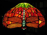 reproduction Tiffany lamp