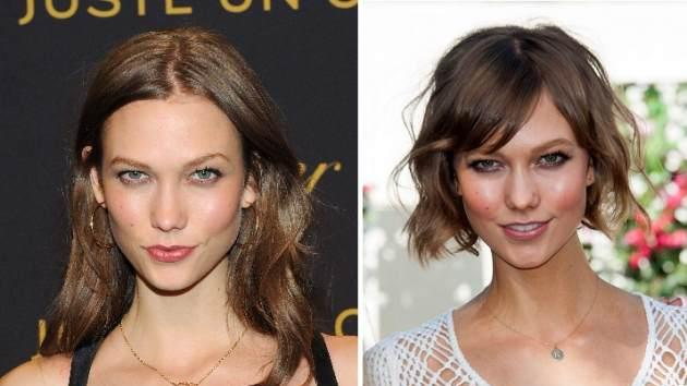 Karlie Kloss long and short hair -- Getty Images / WireImage