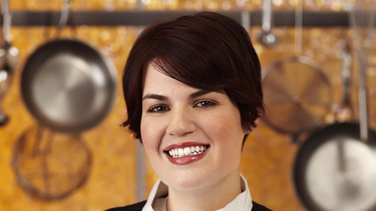 "Emily Kutchins (Chicago, IL) is a contestant on the Red Team on Season 8 of ""Hell's Kitchen."""