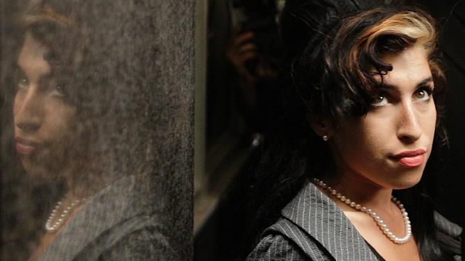 The late British singer Amy Winehouse in London on July 23, 2009