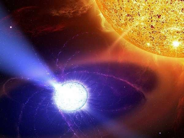 big bang sun white dwaf outer space star