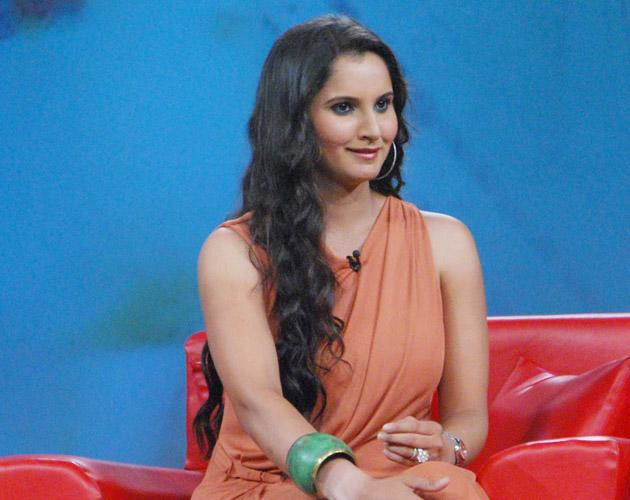Sania gets chatty on a  TV show