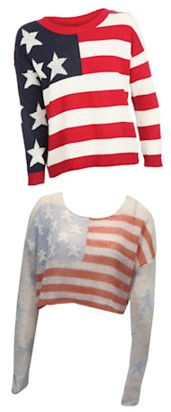 SHOP! Stars and Stripes from Wildfox & Missguided