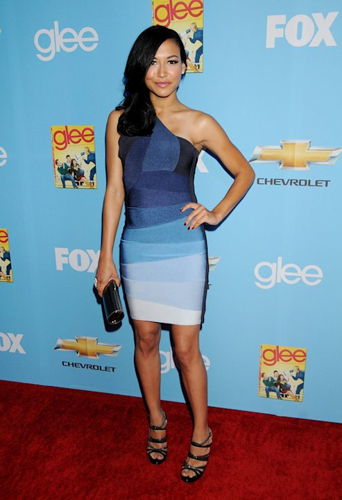 "Naya Rivera attends the ""Glee"" Season 2 Premiere Screening and DVD Release Party at Paramount Studios on September 7, 2010, in Hollywood."