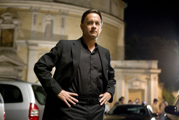 Angels &amp; Demons Production Stills Columbia Pictures 2009 Tom Hanks