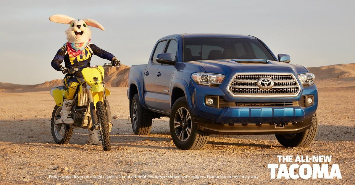 The All-New Tacoma. The World's Your Playground.