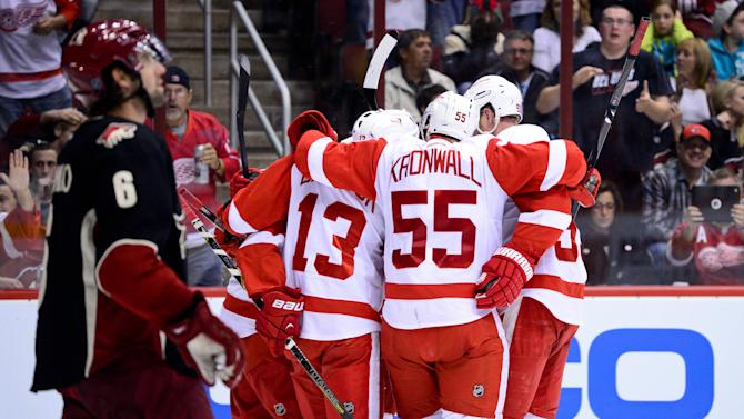 NHL: Detroit Red Wings at Phoenix Coyotes