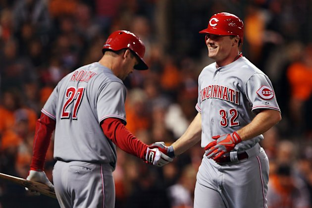 4th Division Series - Cincinnati Reds v San Francisco Giants - Game One