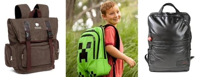 Great new tech backpacks for school