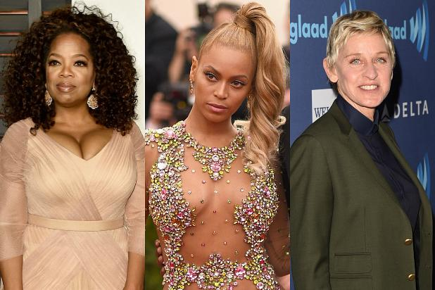 Oprah Winfrey, Beyoncé, Ellen DeGeneres Join List of World's Most Powerful Women