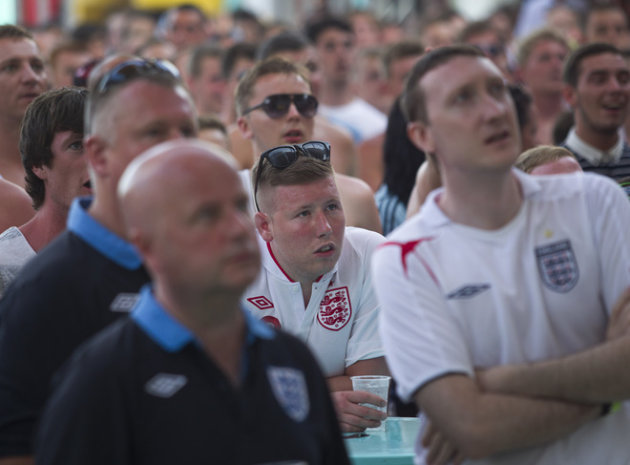 English Supporters AFP/Getty …