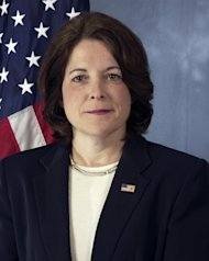 This undated handout photo provided by the US Secret Service shows Secret Service agent Julia Pierson. President Barack Obama will appoint the veteran Secret Service agent as the agency's first female director, signaling his desire to change the culture at the male-dominated service, which has been marred by scandal. (AP Photo/US Secret Service)