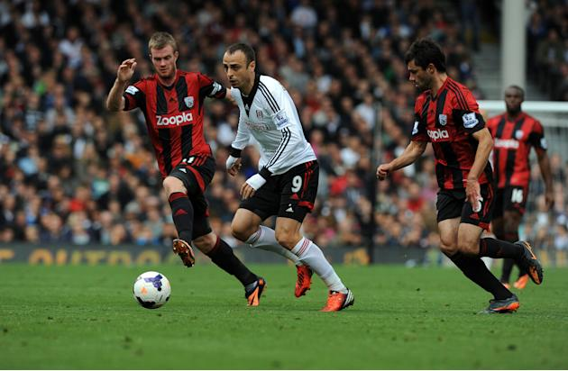 Soccer - Barclays Premier League - Fulham v West Bromwich Albion - Craven Cottage