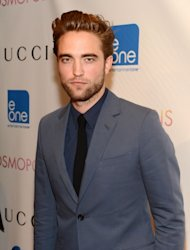Robert Pattinson arrives to the 'Cosmopolis' premiere at the Museum of Modern Art, New York City, on August 13, 2012 -- Getty Images