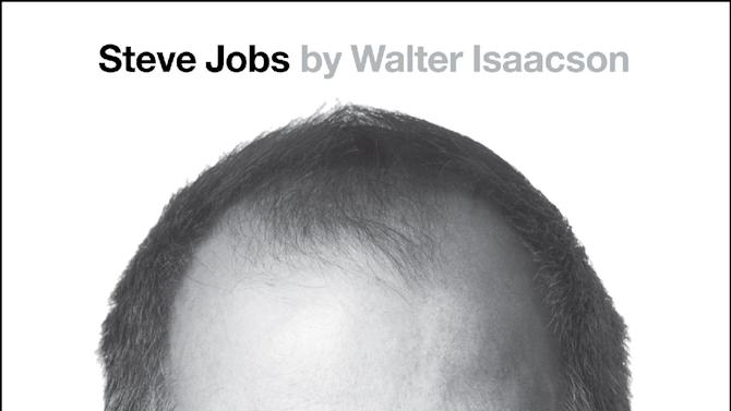 "This book cover image released by Simon & Schuster shows ""Steve Jobs,"" by Walter Isaacson. The book will be released on Nov. 21, 2011. (AP Photo/Simon & Schuster)"