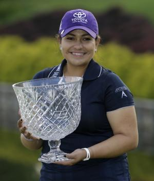 Salas wins by 4 at Kingsmill; first LPGA victory