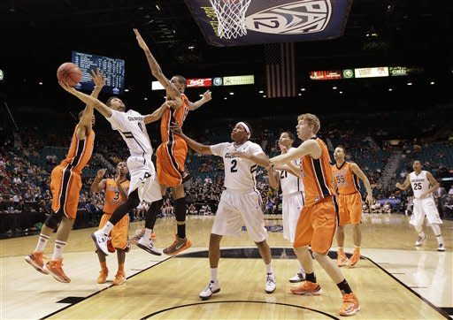Colorado beats Oregon State 74-68 at Pac-12