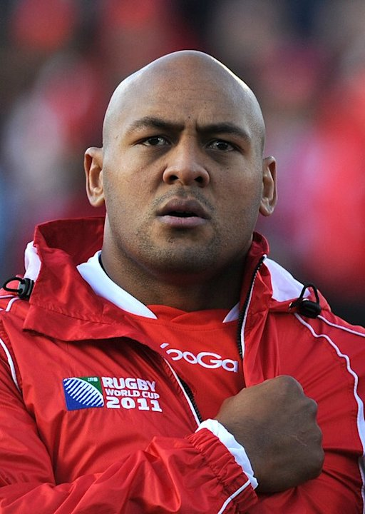 Soane Tonga'uiha of Tonga, pictured during the 2011 Rugby World Cup, in Whangarei, on September 14, 2011