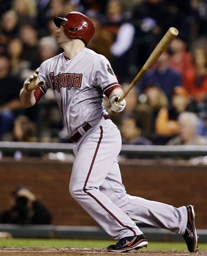 Hill, Kubel lift D-backs over Giants 8-6 in 11