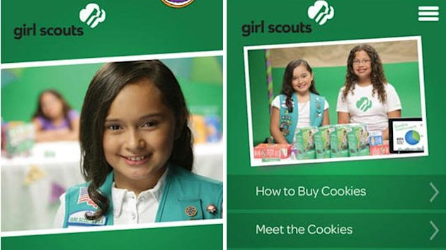 Girl Scouts Go Mobile With Cookie App (ABC News)