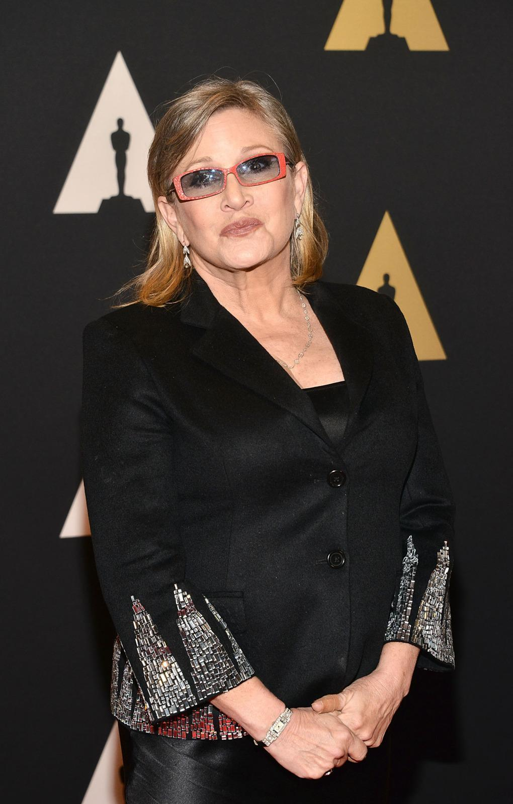 'Star Wars' Is Still Pressuring Carrie Fisher to Lose Weight