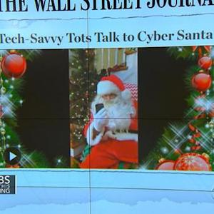 Headlines at 8:30: Kids video chat with Santa