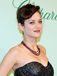 Marion Cotillard is to be honoured for her contribution to drama