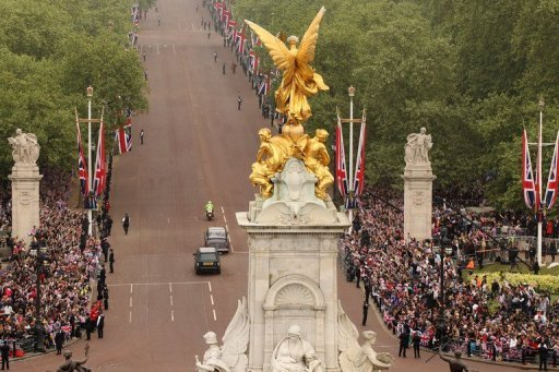 The proposed London F1 Grand Prix could start on The Mall, says a report