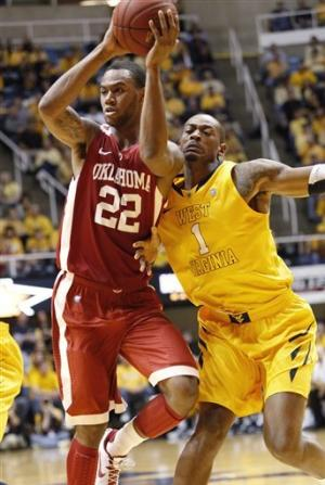 Oklahoma spoils West Virginia's Big 12 debut 67-57