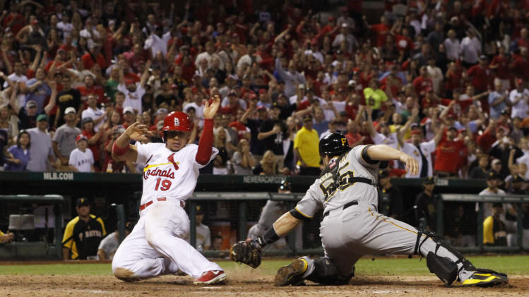 Cardinals beat Pirates 4-3 in 14 innings