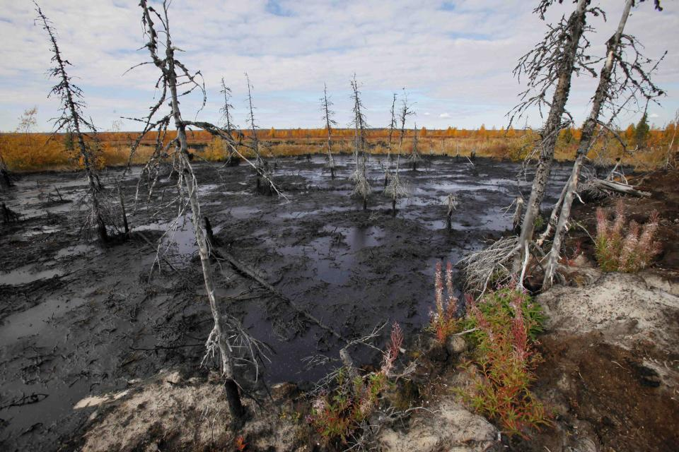 AP Enterprise: Russia oil spills wreak devastation