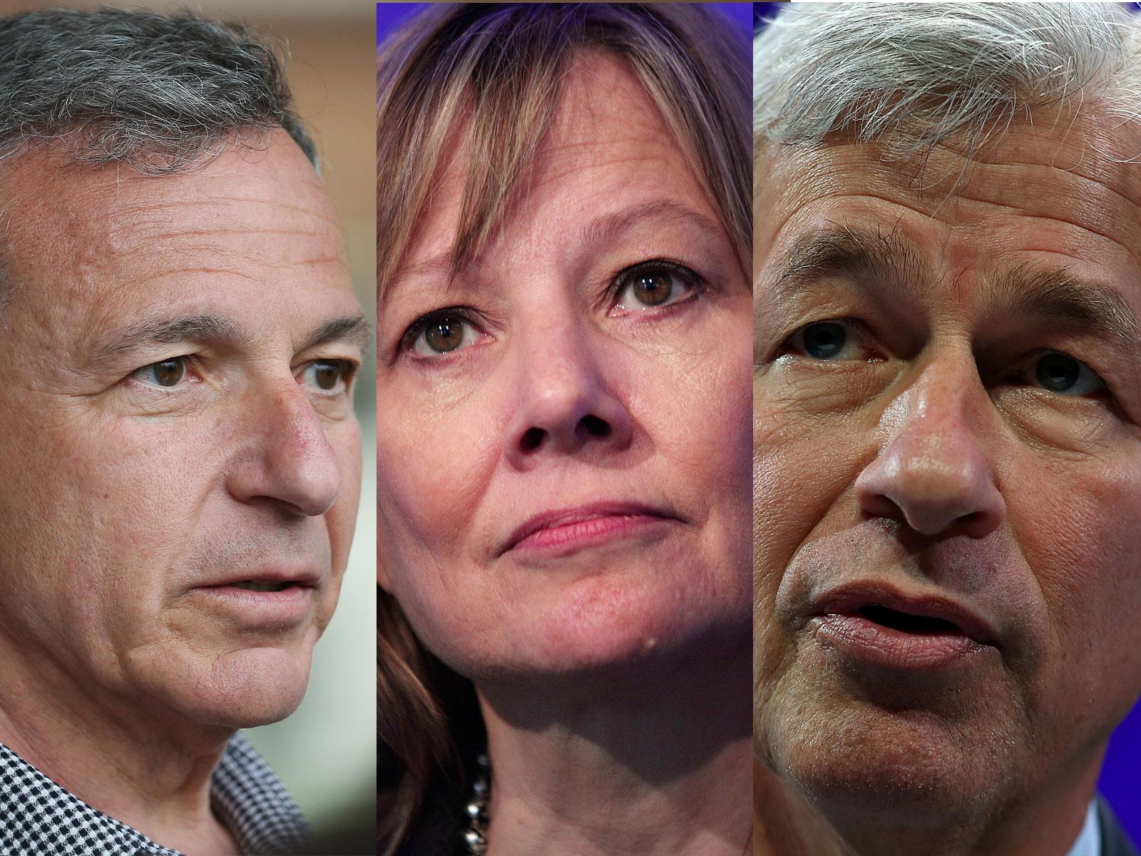 Trump is forming an economic advisory team with the CEOs of Disney, General Motors, JPMorgan, and more