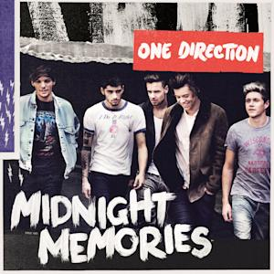"""This CD cover image released by Sony shows """"Midnight Memories,"""" by One Direction. (AP Photo/Sony)"""