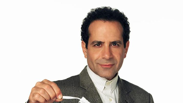 "Tony Shalhoub as Adrian Monk in f""Monk."""