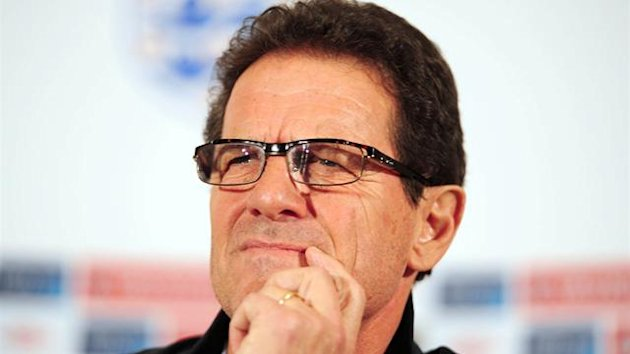 FOOTBALL Former England manager Fabio Capello
